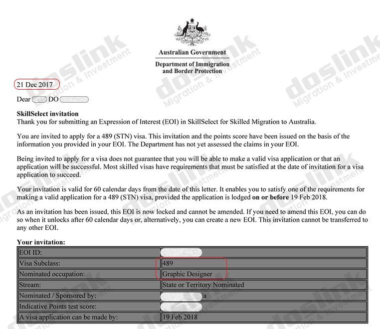 , Visa 489 – Định cư Úc diện Tay Nghề (Skill)   Mr Đỗ – Graphic Designer, Doslink Migration & Investment
