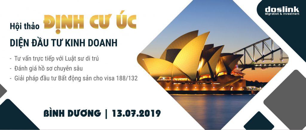 Định cư Úc, ĐỊNH CƯ ÚC DIỆN ĐẦU TƯ KINH DOANH – VISA 188 & 132, Doslink Migration & Investment