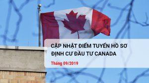 Cap nhat diem rut tham ho so thang 10 - Dinh cu Canada
