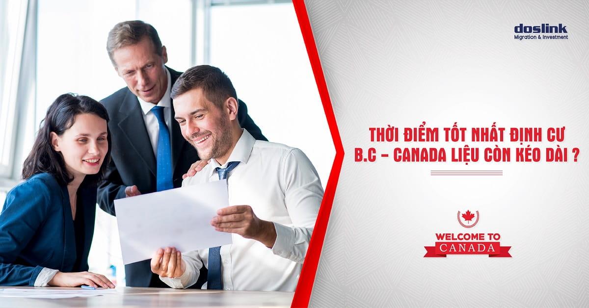 Tình hình định cư Canada B.C