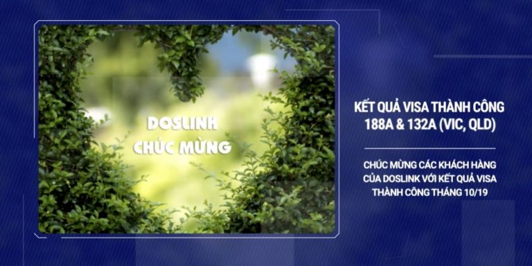 , Kết quả điển hình, Doslink Migration & Investment