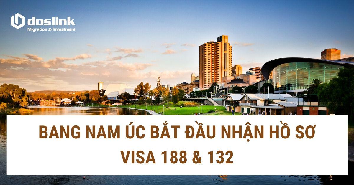 BANG NAM ÚC NGỪNG NHẬN HỒ SƠ VISA 188 & 132