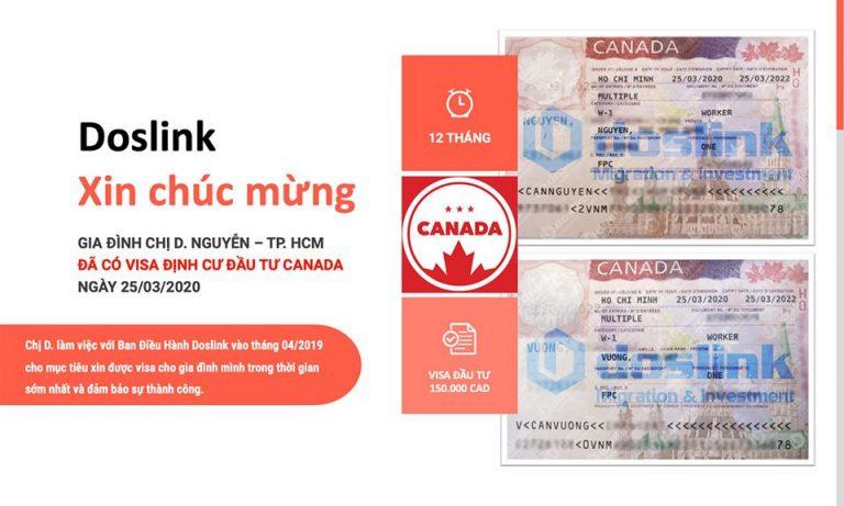 Work Permit định cư Canada