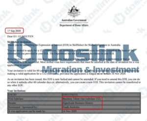 Bảo lãnh Bang visa 132A - Nam Úc (Adelaide), Mr Nguyen 09.2020(doslink.com.vn)