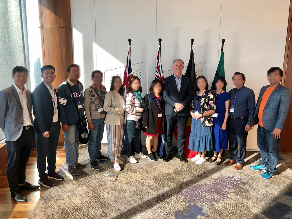 Gặp chính phủ Queensland - Exploratory Visit 10.2019