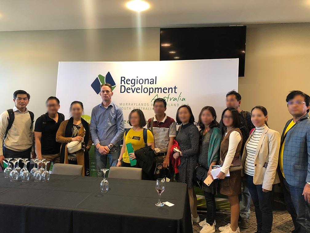 Gặp chính phủ, doanh nghiệp Adelaide - Exploratory Visit 10.2019