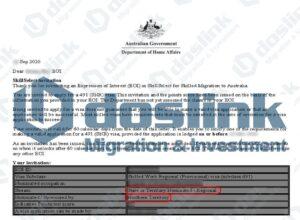 Bảo lãnh visa 491 MINT trong 3 tháng, Project Manager - Mr. Bùi 24/09/2020 (Diện Tay Nghề Cao kèm đầu tư tài chính)