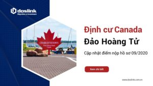 Cập nhật điểm nộp hồ sơ định cư Đảo Hoàng Tử tháng 09.2020