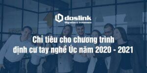 Chỉ tiêu chính thức cho các chương trình định cư tay nghề Úc năm 2020 - 2021