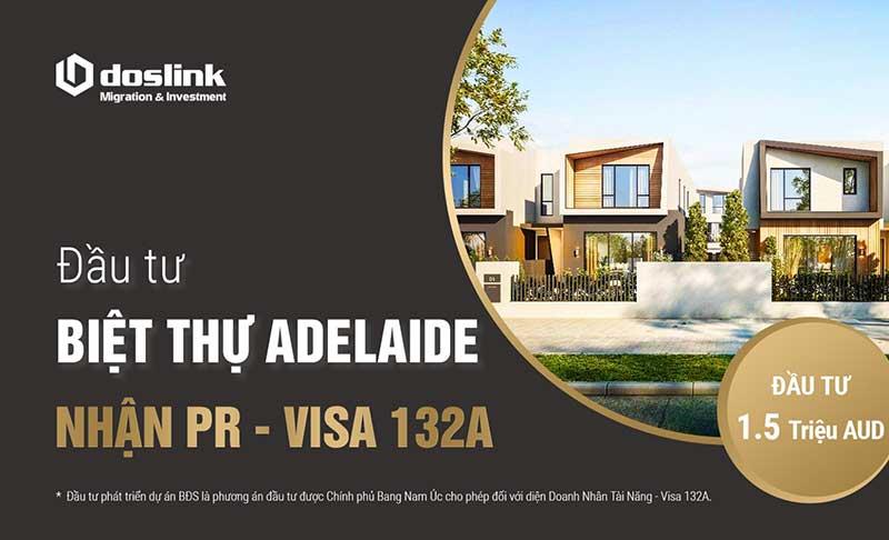 Đầu tư biệt thự Adelaide, đạt điều kiện visa 132A (doslink)