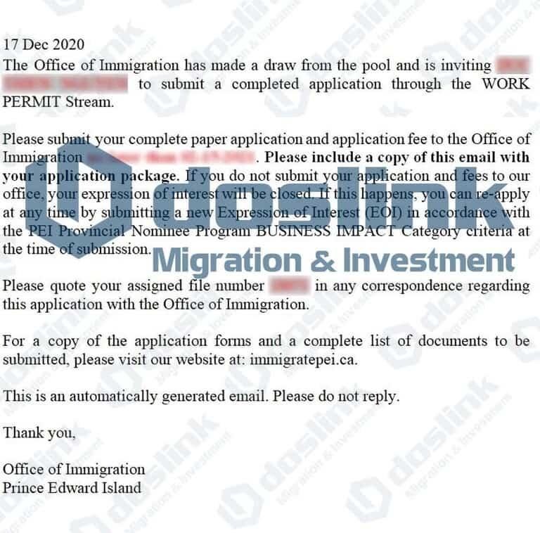 ITA (Invitation to Apply) Đảo Hoàng Tử - Mr Thien Tháng 12/2020