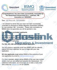 Bảo Lãnh Bang Queensland Visa 188A ngày 18/02/2021