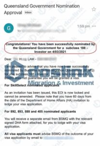 Bảo lãnh bang Queensland - Visa 188B Đầu tư trái phiếu Úc - 04/03/2021