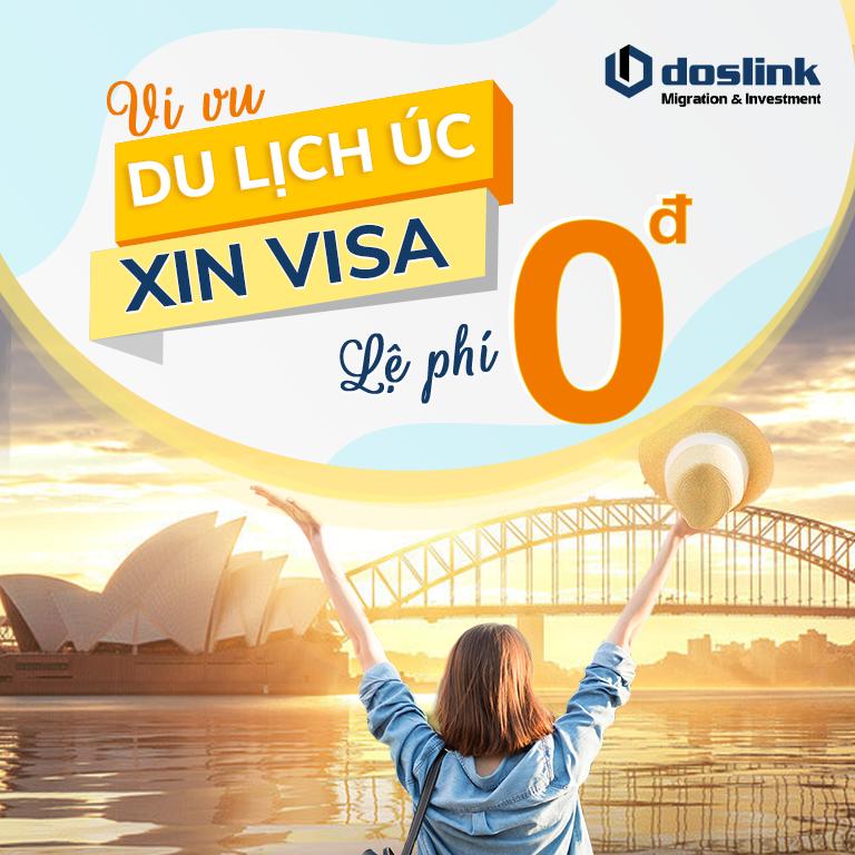 Miễn lệ phí visa du lịch Úc - Chính sách mới nhất từ chính phủ