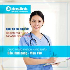 Bảo lãnh Bang visa 190 Registered Nurse - Định cư tay nghề Úc | Ms H. Lê