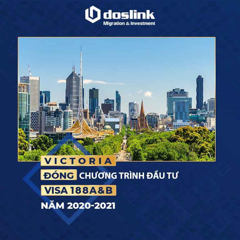 Victoria đóng chương trình đầu tư 188A&B năm tài khoá 2020-2021