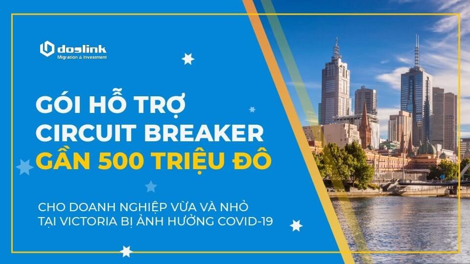 Gói Hỗ Trợ Circuit Breaker Gần 500 Triệu Đô Cho Doanh Nghiệp Vừa Và Nhỏ Tại Victoria Bị Ảnh Hưởng Covid-19